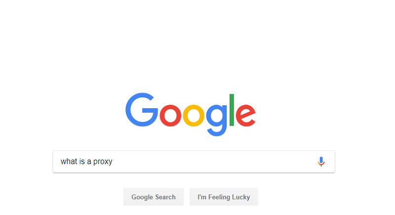Google.com: What Is Proxy?