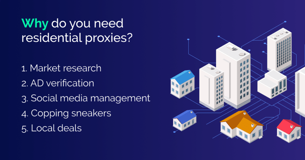 why do you need residential proxies