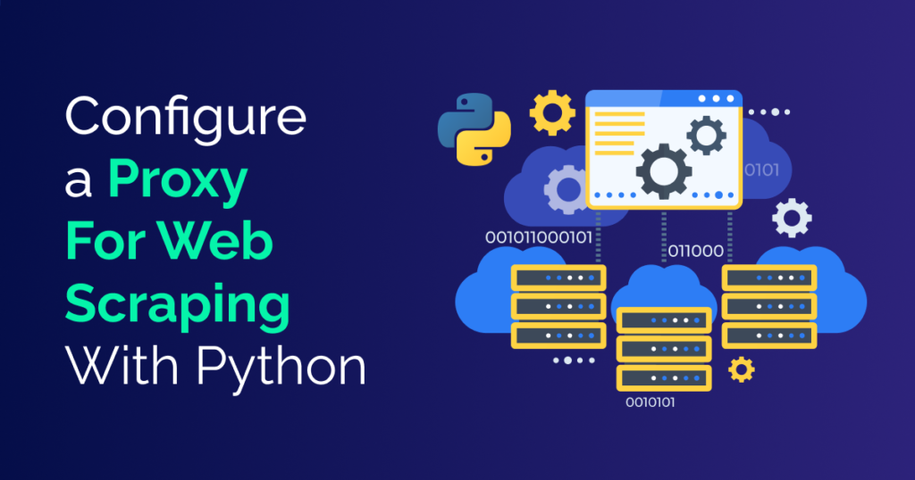 configure proxy in python